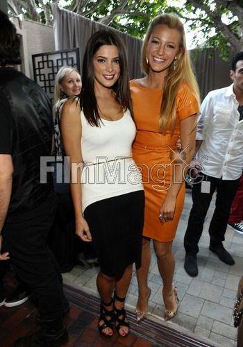 New photos of Ashley Greene and Blake at TCA