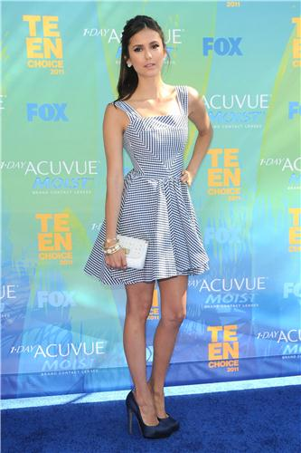 Nina - Teen Choice Awards Arrivals - August 07, 2011