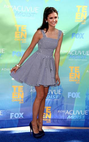 Nina - Teen Choice Awards Arrivals - August 07, 2011