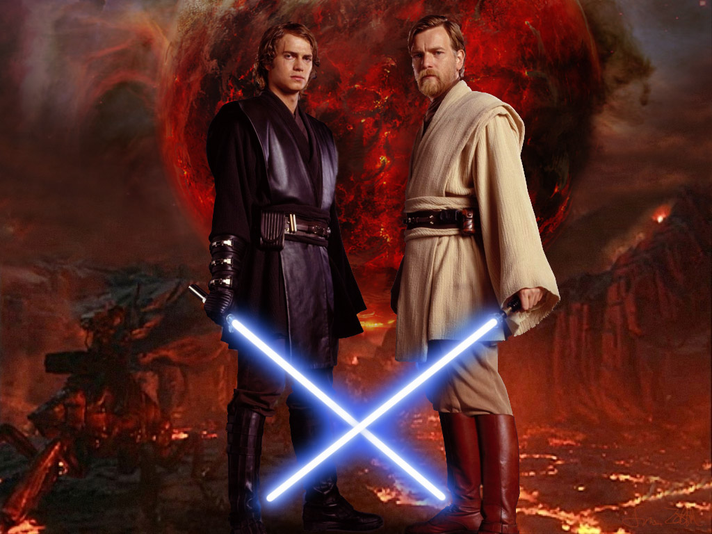 Star Wars Anakin Skywalker Wallpaper: Obi-Wan Kenobi Images Obi-Wan Kenobi & Anakin Skywalker HD