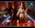 Obi-Wan Kenobi & Anakin Skywalker