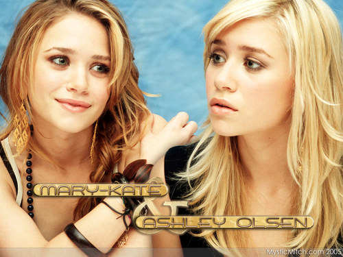 Mary-Kate & Ashley Olsen wallpaper with a portrait called Olsen_ 41