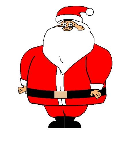 Owen as Santa Clause