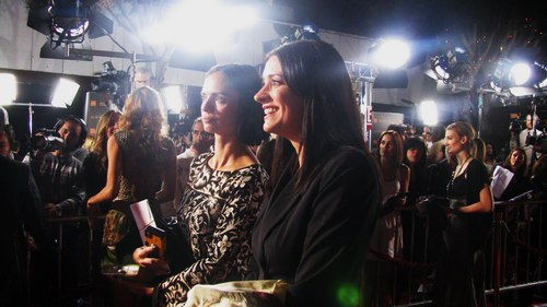 Paget at the Twilight premiere