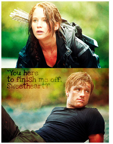 Peeta/Katniss - the-hunger-games Fan Art