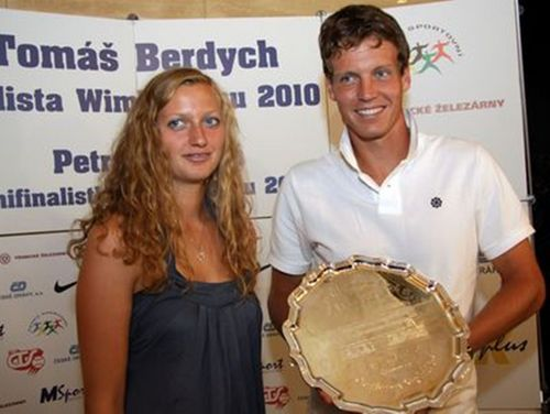 Petra Kvitova and Tomas Berdych To Play Hopman Cup 2012 Together