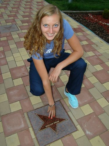 Petra Kvitova has star !