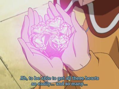 담홍색, 핑크 Hearts