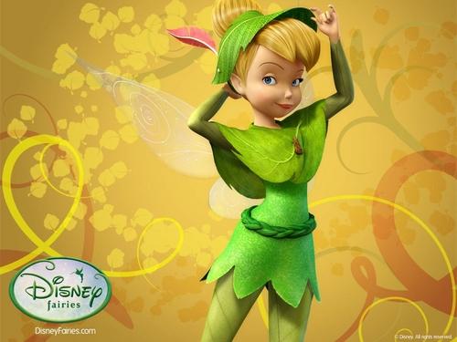 Pixie Hollow Tinkerbelle