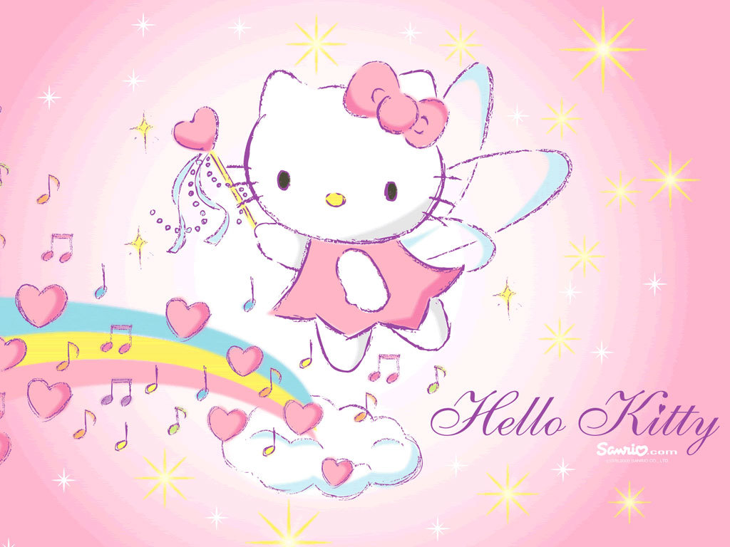 Hello kitty images rainbow kitty hd wallpaper and background photos 24348073 - Hello kitty hello ...