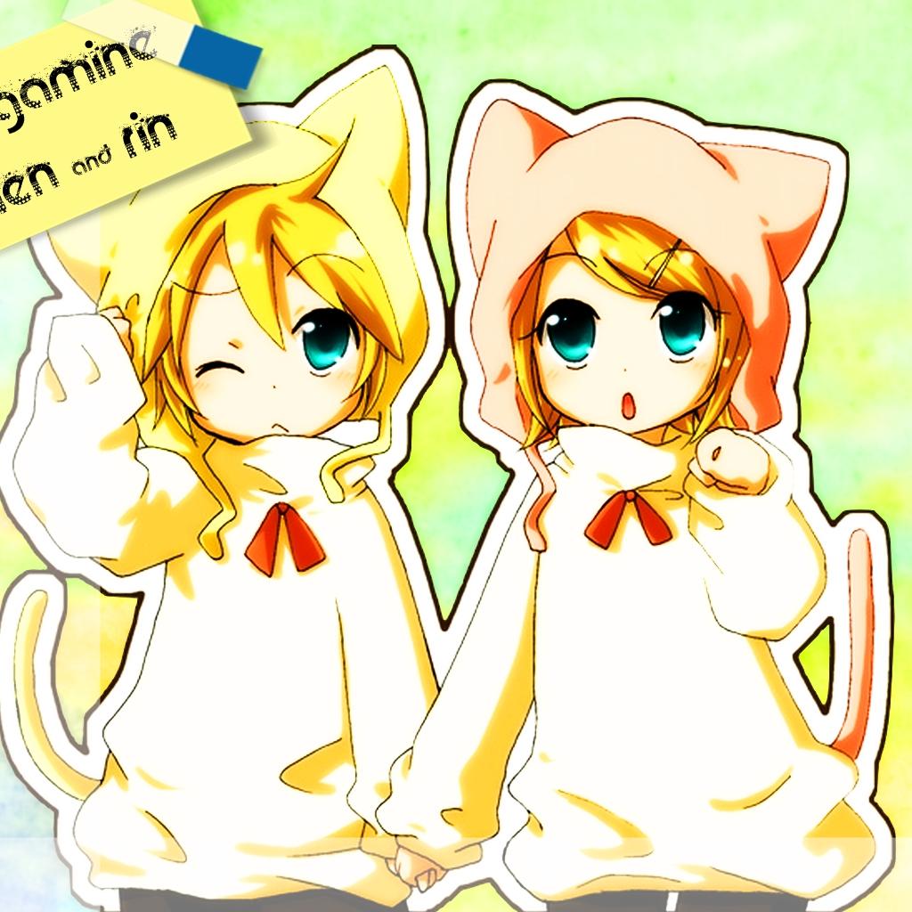 Kagamine Rin Cute Wallpaper Rin And Len Kagamine Cute