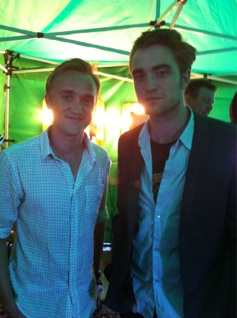 Robert Pattinson and Tom Felton TCA 2011