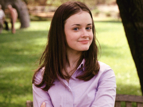 Gilmore Girls fond d'écran containing a portrait called Rory
