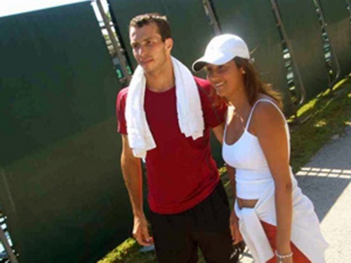 SEXY RADEK STEPANEK AND SEXY WOMAN....