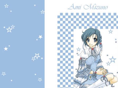 Sailor Mercury wallpaper with animê entitled Sailor Mercury/Ami Mizuno