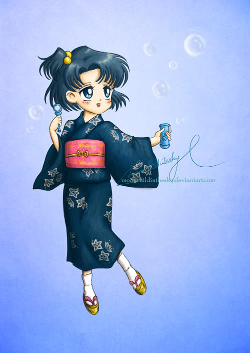 Sailor Mercury/Ami Mizuno