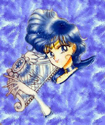 Sailor Mercury Манга