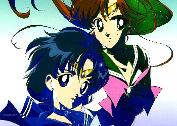 Sailor Mercury and Jupiter