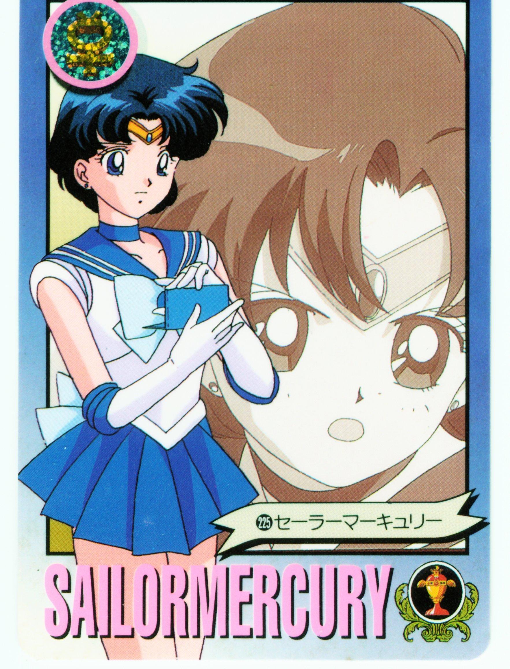 Sailor Mercury card
