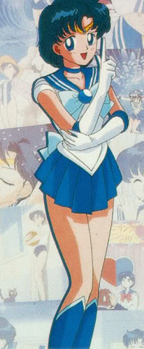 Sailor Mercury wolpeyper with anime called Sailor Mercury