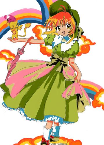 Cardcaptor Sakura پیپر وال called Sakura_Greta Macedonio