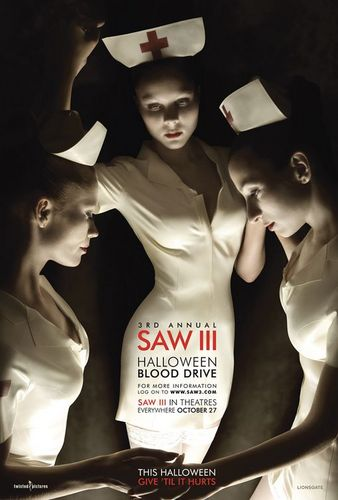 Saw III Blood Drive Poster