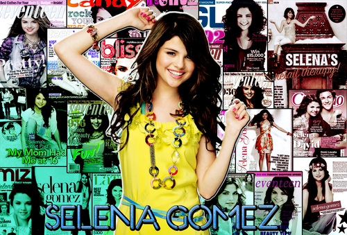 Sel Gomez collage