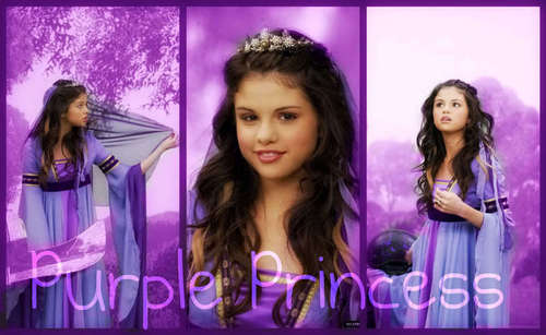 Selena Gomez Purple Princess!