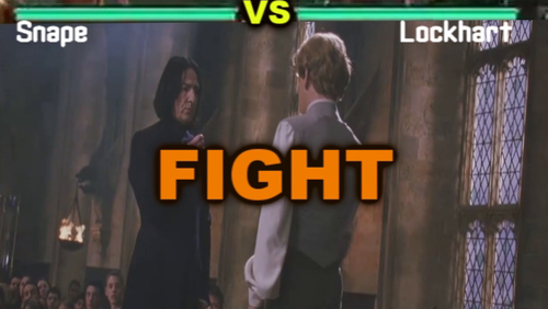 Severus Snape VS Lockhart - (TEKKEN VERSION)