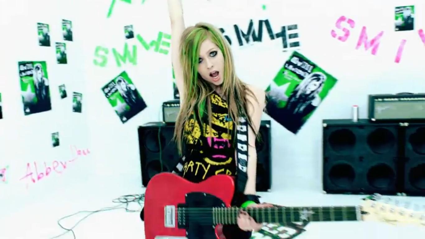 Avril Lavigne Smile Quotes Quotesgram