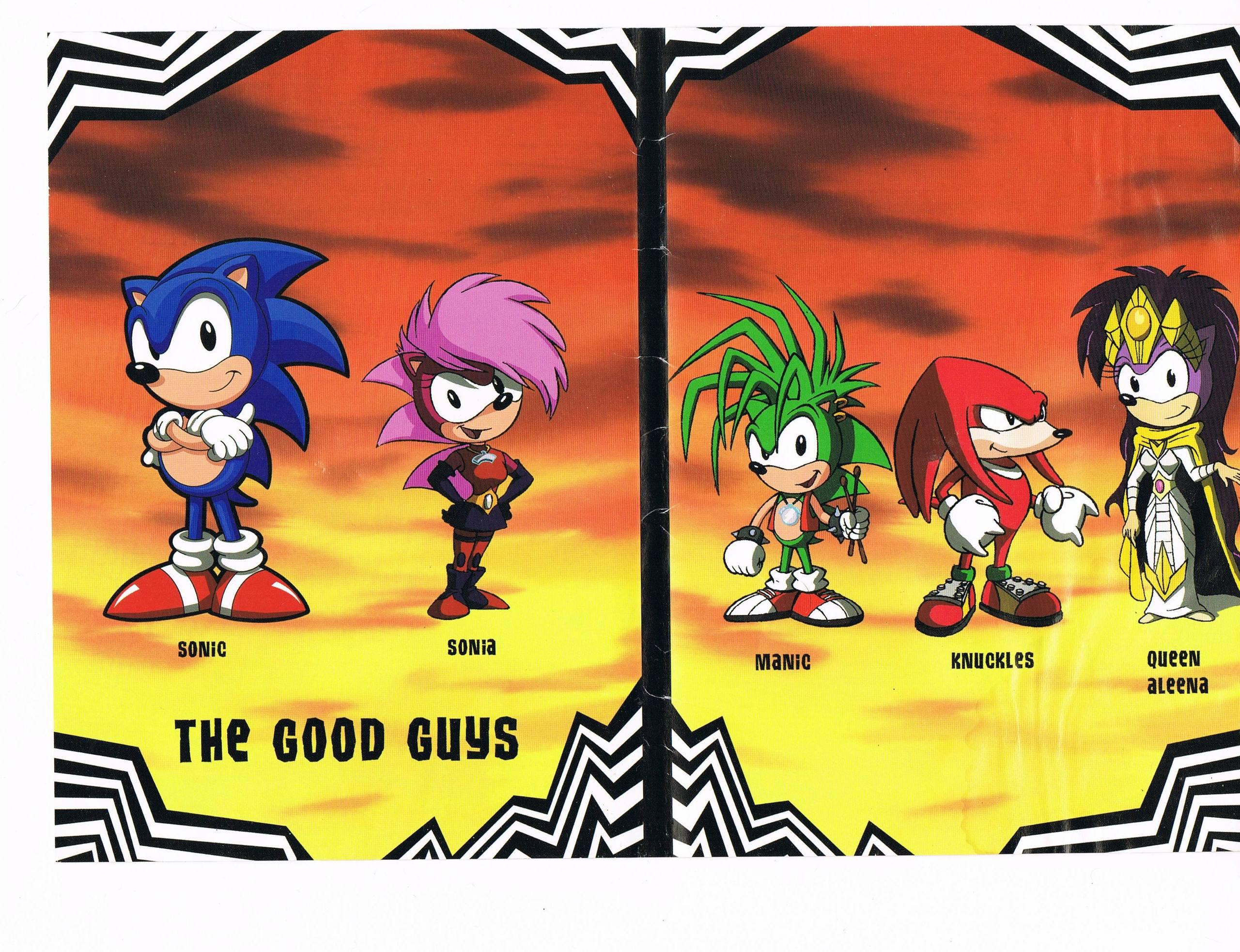 Sonic Underground Sonic Underground Foto 24374858 Fanpop
