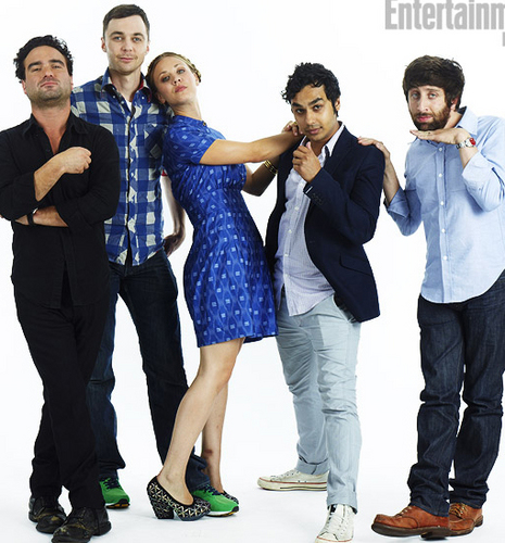 The Big Bang Theory images Star Portraits Comic-Con 2011 wallpaper and background photos
