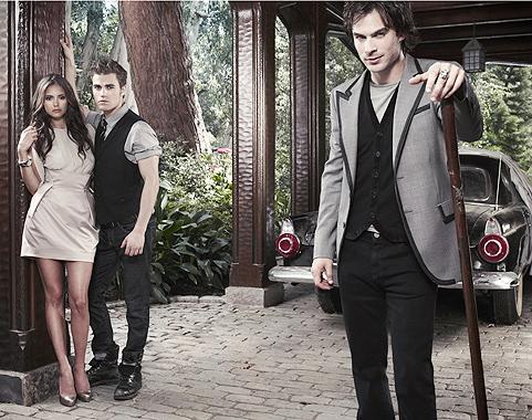 Stefan,Elena & Damon