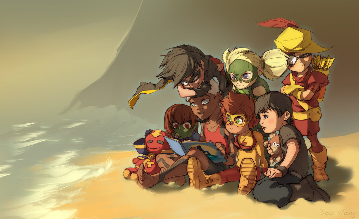 Young Justice Images Story Time HD Wallpaper And Background Photos