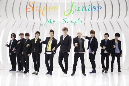 Super Junior Mr. Simple album cover