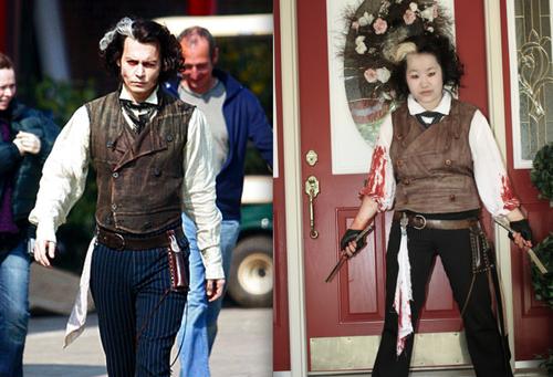Sweeney costume comparison