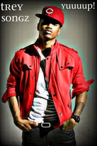 Trey Songz wallpaper possibly with an outerwear, a workwear, and a leisure wear entitled TREYSONGZ