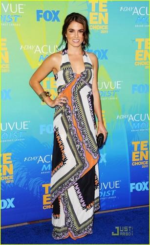 Taylor Lautner & Nikki Reed - Teen Choice Awards 2011