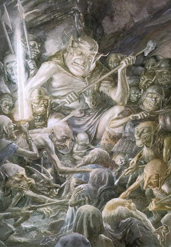 The Hobbit oleh Alan Lee