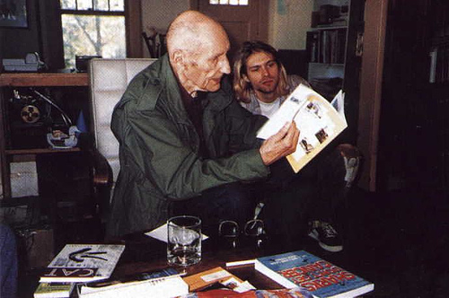 Kurt Cobain & William Burroughs