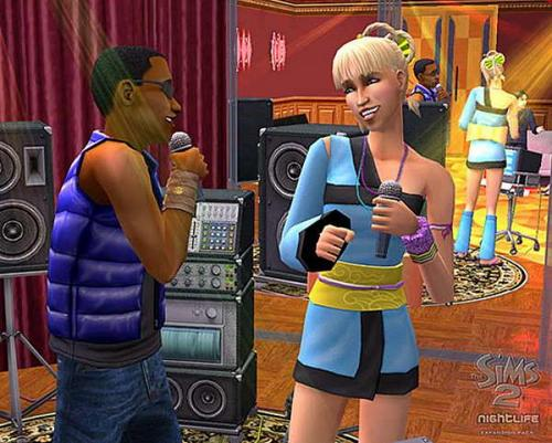 The sims 2 nightlife