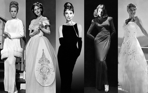 Tippi, Ava, Audrey, Lauren and Rita.