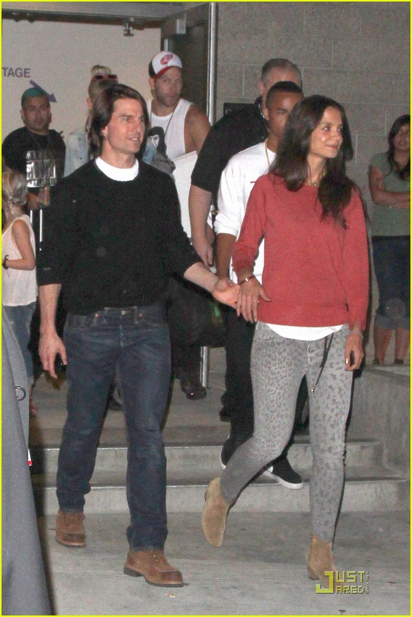Tom Cruise & Katie Holmes: Katy Perry Concert Date! - tom-cruise photo