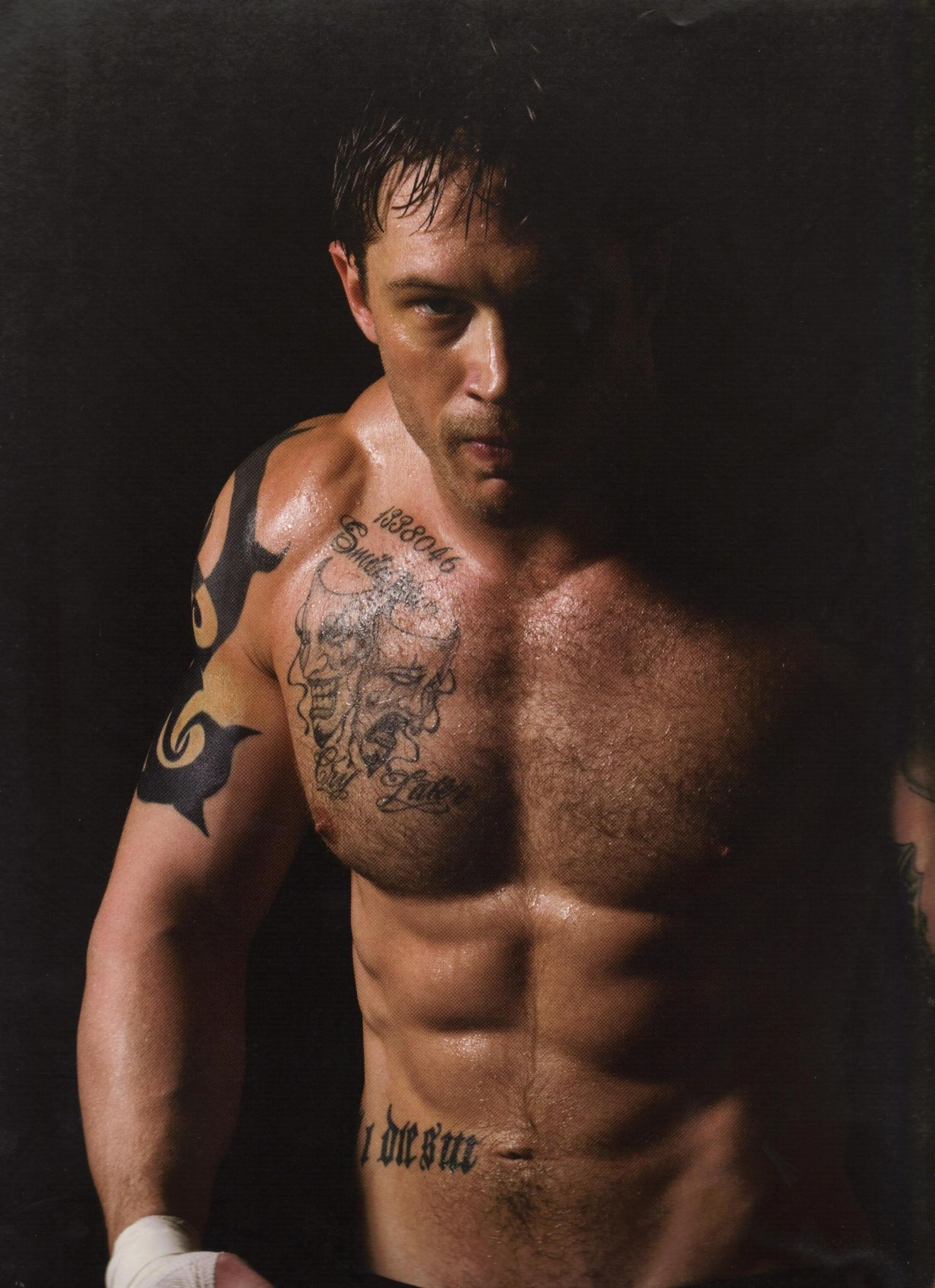 Tom Hardy is Tommy Conlon, Men of Warrior