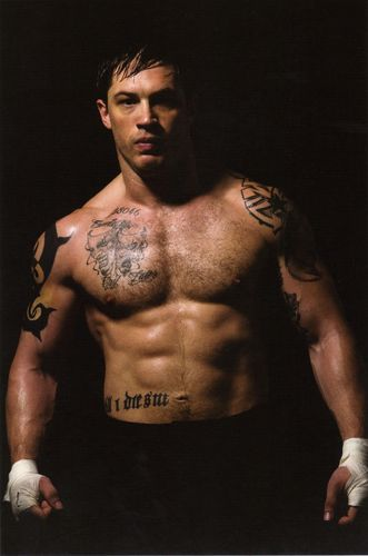 Tom Hardy wallpaper with a hunk and a six pack titled Tom Hardy is Tommy Conlon, Men of Warrior