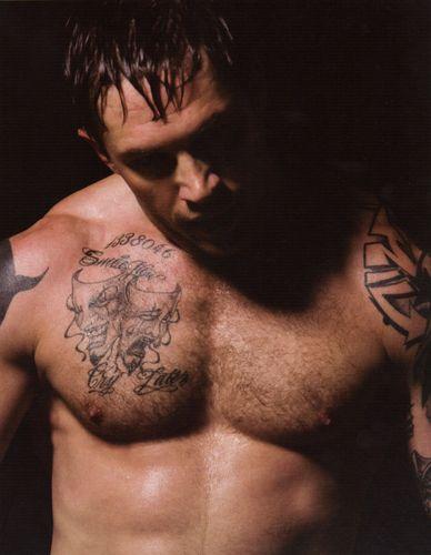 Tom Hardy is Tommy Conlon, Men of Warrior