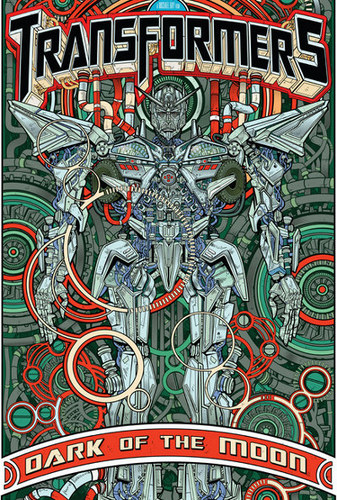 Transformers Dark Of The Moon Sentinel Poster