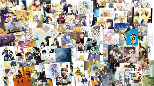 Ultimate SasuNaru Collage