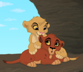 Vitani and Kovu - vitani-the-outlander fan art
