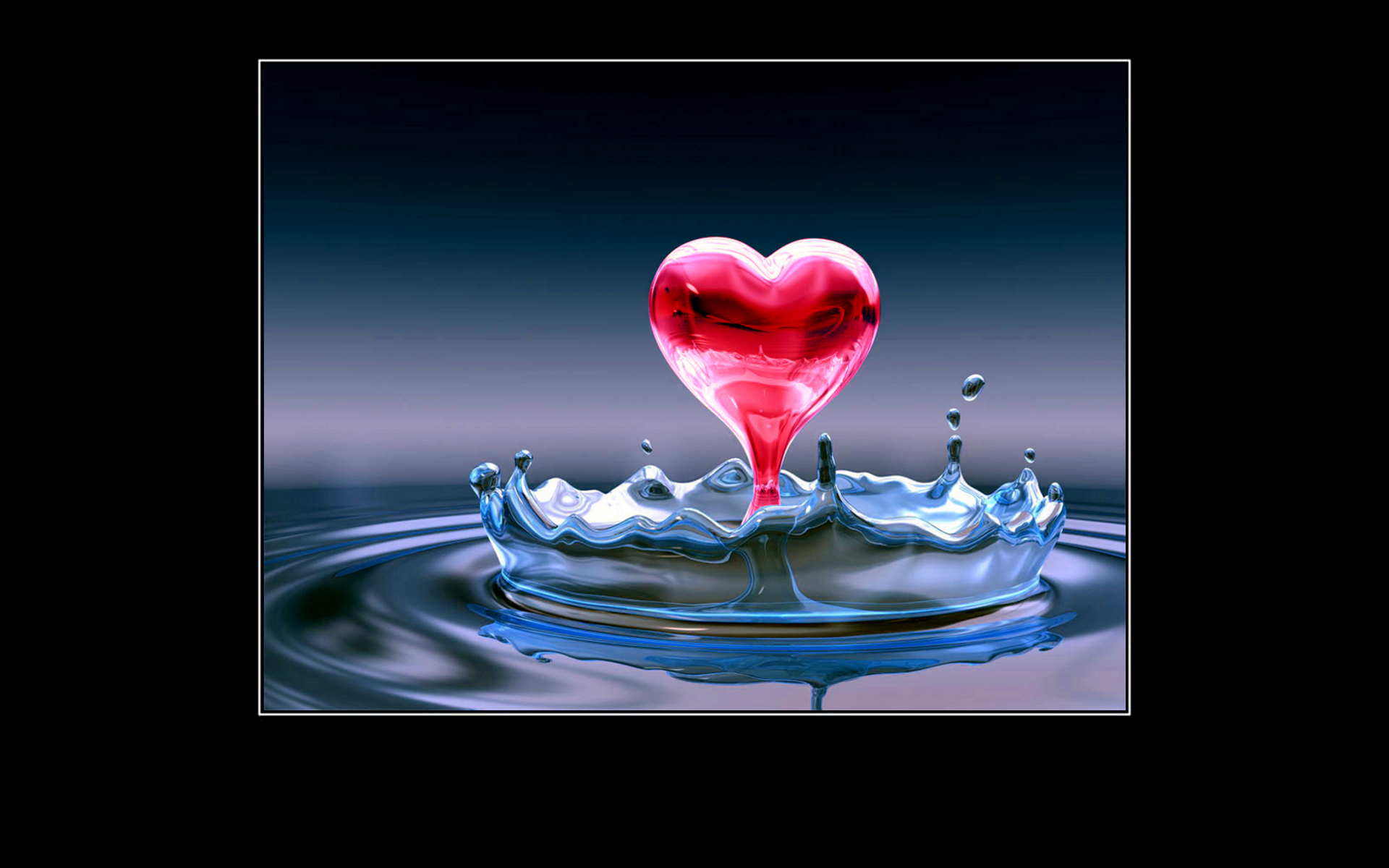 love quotes images Water Heart HD wallpaper and background ...